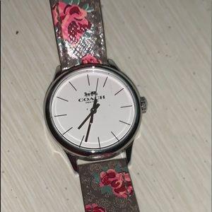 BEAUTIFUL! New COACH watch without box .